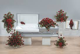 how to make a casket spray casket sprays and accompanying arrangements for the family