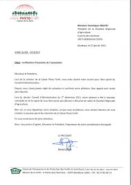 chambre agriculture bordeaux lettre de la caisse phyto forêt à la chambre régionale d agriculture