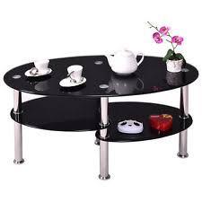 Black Glass Coffee Table Glass Coffee Table Ebay
