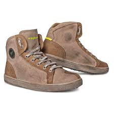 brown motorcycle shoes stylmartin