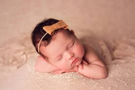 newborn bows baby bows felt bows newborn bows dainty baby headband beige