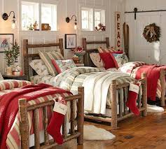 Pottery Barn Christmas Decor Ideas by 217 Best Christmas Bedding U0026 Decorations Images On Pinterest