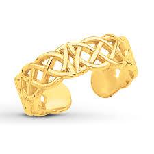 kay jewelers credit card kay celtic knot toe ring 14k yellow gold