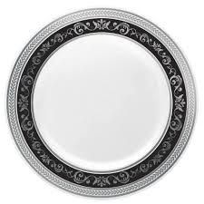 royal 10 25 plastic black and black dinner plate posh