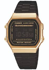 casio a168 casio a168wegb 1bef montre or planet sports