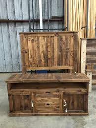 Rustic Pine Desk White Pine Knotty Pine Broken Bow Ok