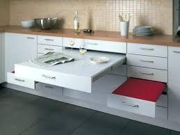 meuble cuisine avec table escamotable meuble table cuisine trendy ouedkniss meuble table en bois de