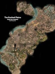 Dragon Age World Map by The Exalted Plains Dragon Age Inquisition Game Maps Com