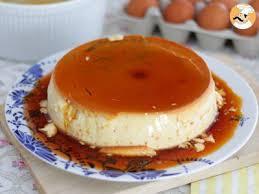 que cuisiner avec des oeufs flan aux œufs vanille recette ptitchef