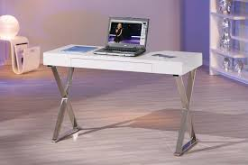 bureau blanc laqué brillant bureau blanc laqué pas cher petit bureau bois eyebuy