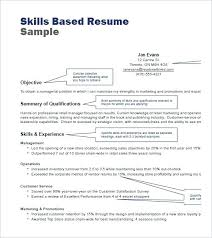 retail resume template skills for retail resume