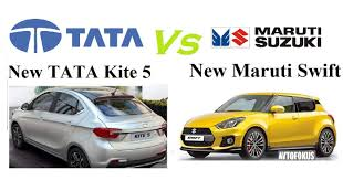 nissan micra vs tata tiago new maruti swift 2017 vs new tata kite 5 comparision with all