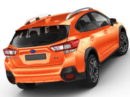 subaru orange crosstrek subaru xv crosstrek 3d model 1147345 turbosquid