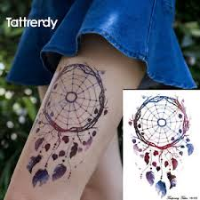 nix t25 big temporary tattoos body art stickers waterproof men