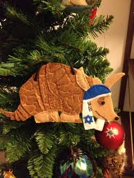 hanukkah armadillo style my jewish fiancé made this ornament