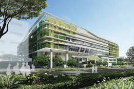 cool building designs cool technology for singapore s most energy efficient office