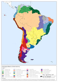 South America Rivers Map by Aquastat Fao U0027s Information System On Water And Agriculture