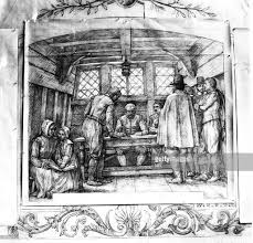 pilgrims thanksgiving history 21 nov pilgrims sign the mayflower compact photos and images