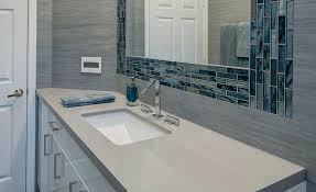 Custom Quartz Vanity Tops Vanities How To Remove Tile Bathroom Vanity Top Custom Tiled