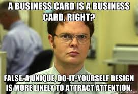 Do It Yourself Meme - diy creating alluring business cards while saving cash business