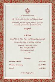 indian wedding card sles 48 best hindu wedding invites images on hindus indian