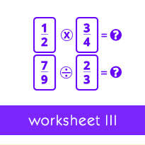 modeling division of a whole number by a fraction worksheets