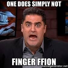 One Does Simply Not Meme Generator - one does simply not finger ffion angry cenk meme generator