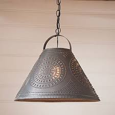 Tin Ceiling Lights Punched Tin Lighting And Punched Tin Chandeliers