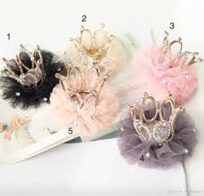 handmade hair accessories 2017 korean children sequined crown hairpins baby girl