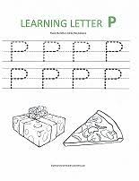 preschool letter p worksheets the best and most comprehensive