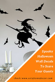 spooky halloween wall decals to scare your guests uniq home decor