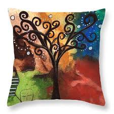 tree of dreams throw pillow destiny womack