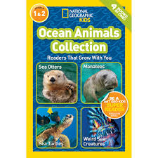 national geographic readers ocean animals collection national