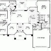 4 bedroom single story house plans 4 bedroom 1 story house plans justsingit