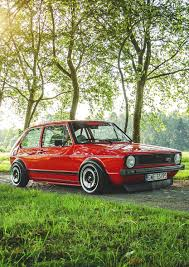 volkswagen golf mk1 modified volkswagen golf mk1 golf mk1 gti gli and r pinterest