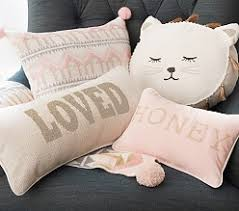 Nursery Decorative Pillows Nursery Decorative Pillows Pottery Barn Baby Products