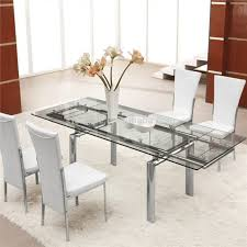 Round Glass Kitchen Table Kitchen Adorable Kitchen Table Sets Round Glass Top Dining Table