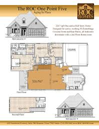 One Story Floor Plans With Bonus Room by Floorplans