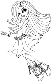 monster spechra colouring pages color