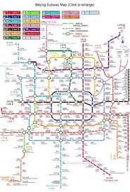 Metro La Map Beijing Subway Maps Metro Planning Map