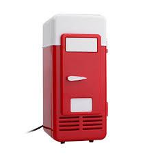 usb super mini fridge refrigerator beverage drinks cooler