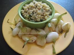 cuisiner des oignons oignons nouveaux poêlés le des surprises