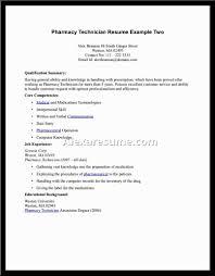 Entry Level Pharmacy Technician Resume Resume Computer Technician Resume