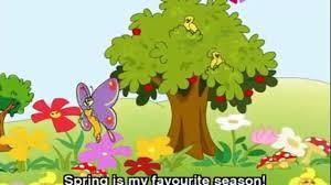 my favourite seasons spring summer autumn winter 2015 english
