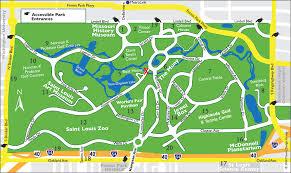 missouri casinos map louis forest park map