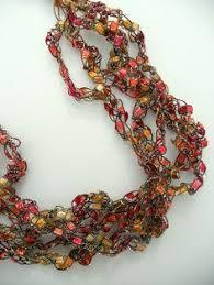 trellis ladder yarn necklace instructions simple ladder yarn necklace arts u0026crafts pinterest yarns