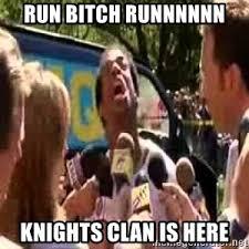 Run Bitch Run Meme - run bitch scary movie meme generator