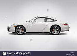 porsche 911 targa white 2008 porsche 911 targa 4s in white drivers side profile stock