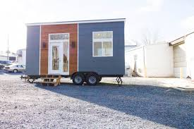 mid century modern tiny home 170 sq ft