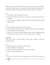home depot marketing plan home depot strategy report